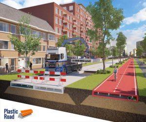 Cobouw genomineerde Plastic Road van KWS Volker Infra