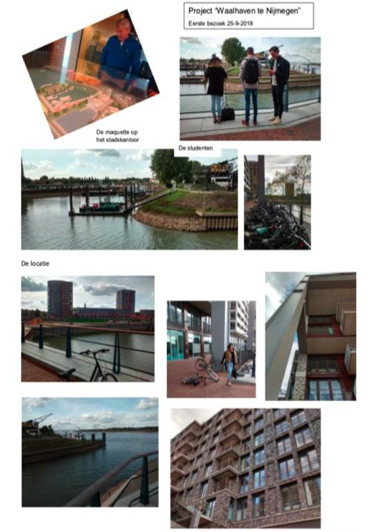 SLIMCirculair team ROC Nijmegen, project Waalhaven