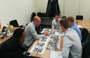 Team Twente uit Hengelo met de potientiele bewoners