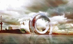 Dutch Windwheel gebouw Rotterdam