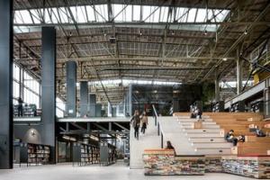 LocHal Tilburg is nu bibliotheek