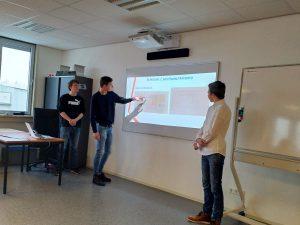 DaVinci team presenteert voorlopig ontwerp aan gemeente Dordrecht