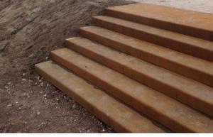 miscanthus beton voor buitentrap en troittoir