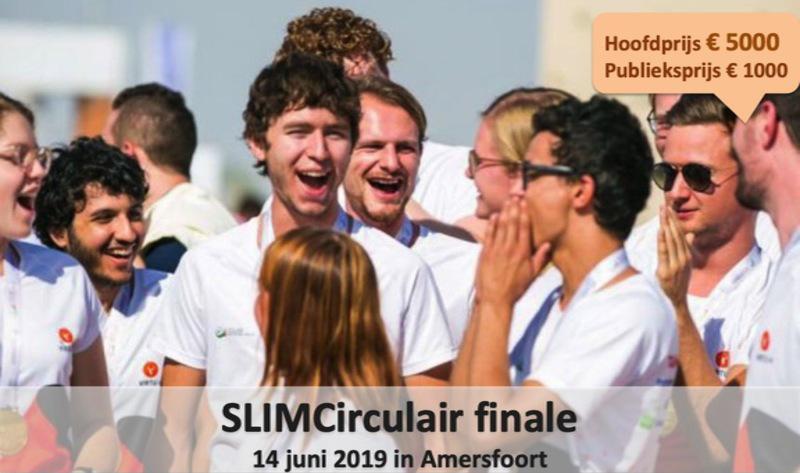 Finale SLIMCirculair '18-'19 vrijdag 14 juni 2019