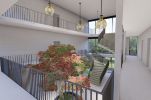 Project2050 ontwerpt trendy designed studentenhuisvesting Utrecht