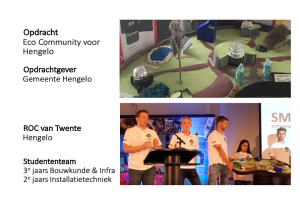 Team Twente, Eco Community